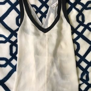 Silence & noise backless tank top NWOT
